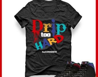 2b61369c64b6db Jordan 9 Dream It Do It T-Shirt Sneaker Match Drip Too Hard T Shirt