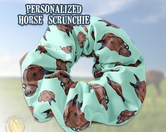 Scrunchie Bright herd equestrian horsefox