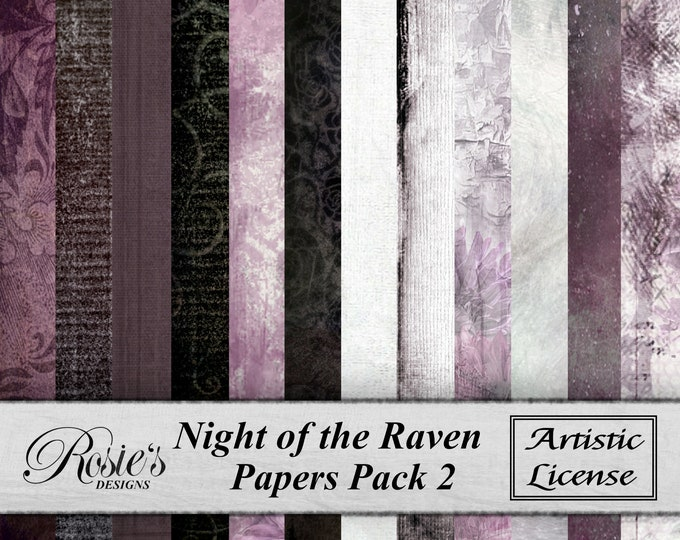 Night of the Raven Papers Pack2 - Artistic License
