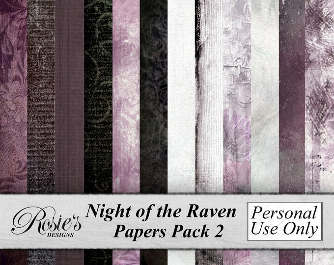 Night of the Raven Papers Pack2