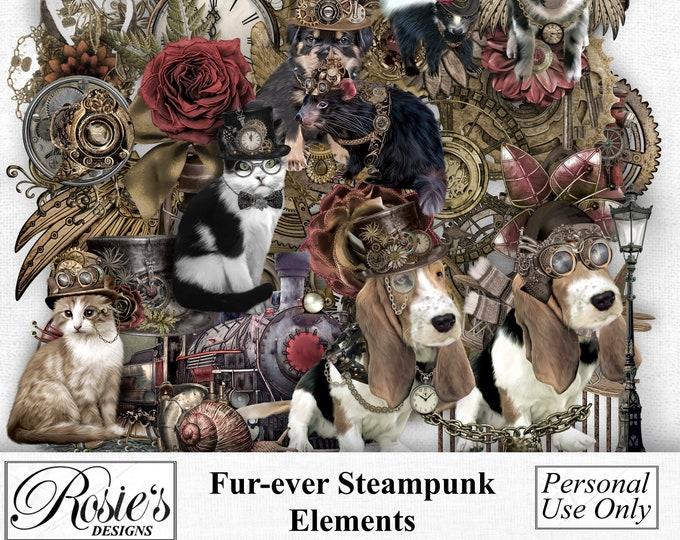 Fur-ever Steampunk Elements