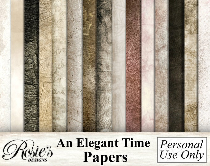 An Elegant Time Papers
