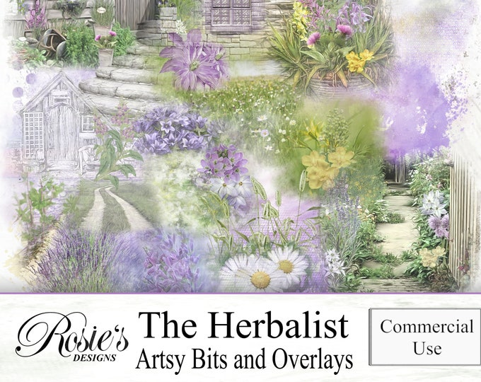 The Herbalist Artsy Bits and Overlays