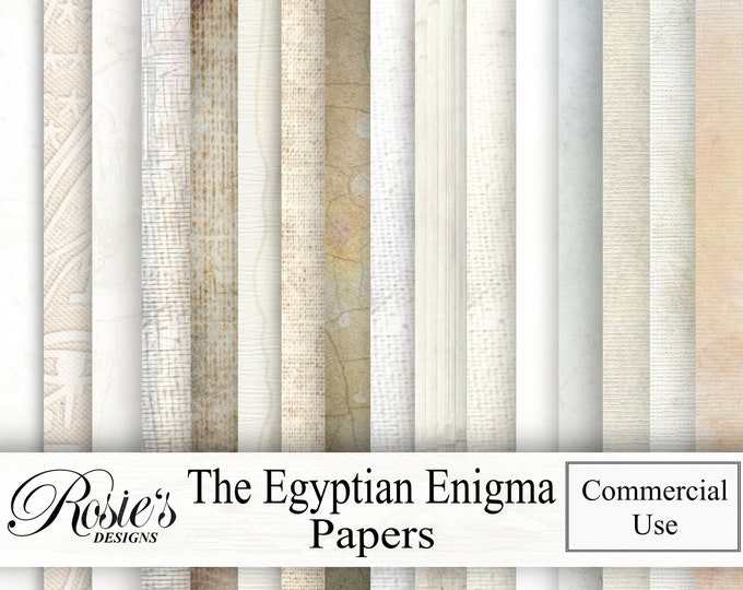 The Egyprian Enigma Papers Commercial Use