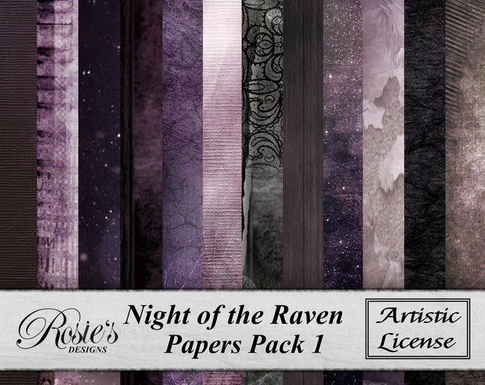 Night of thee Raven Papers Pack1 - Artistic License