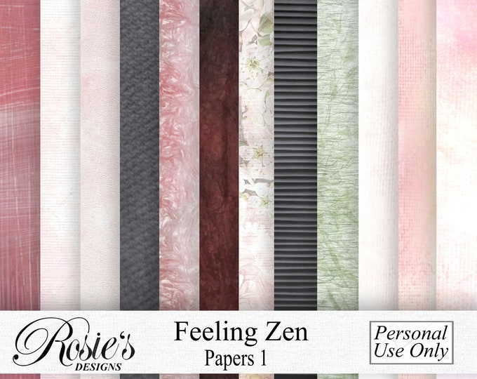 Feeling Zen Papers 1 Personal Use