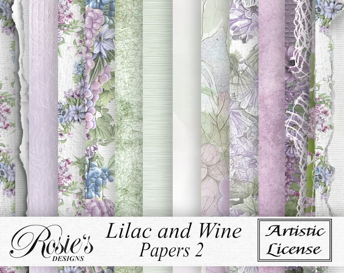 Lilac and Wine Papers 2  Artistic License