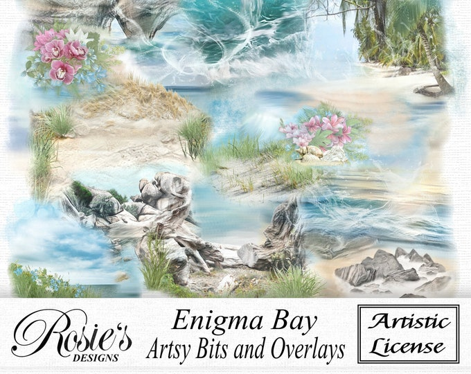 Enigma Bay Artsy Bits And Overlays Artistic License