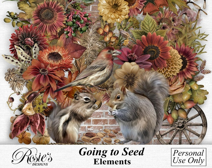 Going To Seed Elements Personal Use