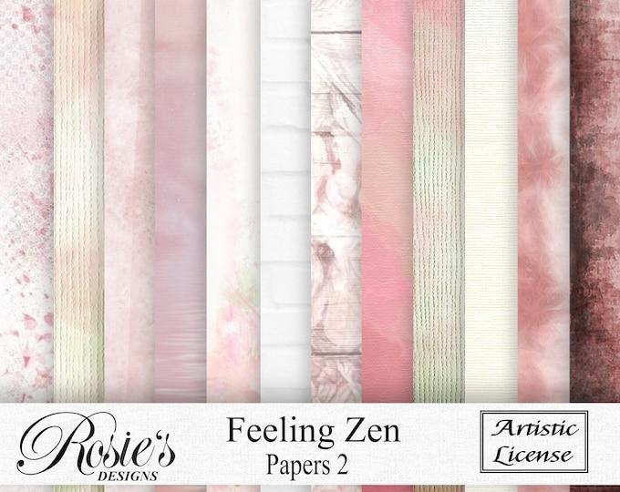 Feeling Zen Papers 2 Artistic License