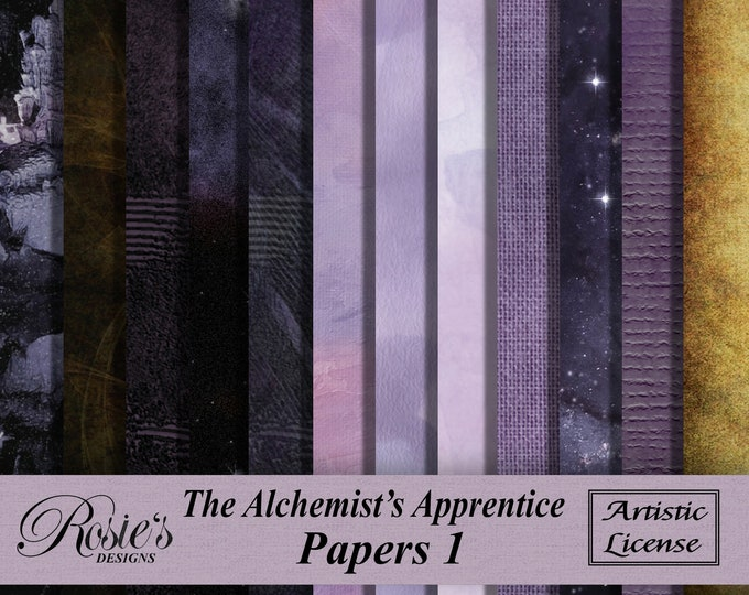 The Alchemisat's  Apprentice Papers 1 Artistic License