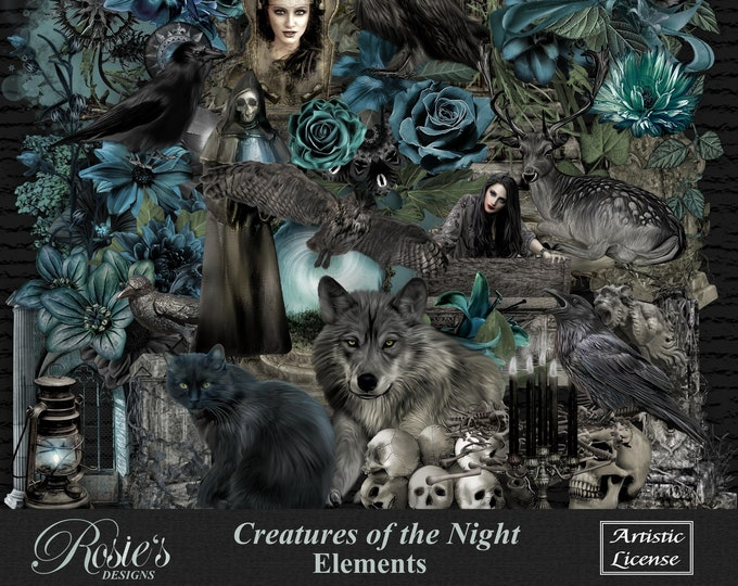 Creatures Of The Night Elements Artistic License