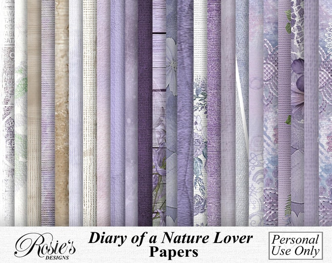 Diary Of A Nature Lover Papers Personal  Use