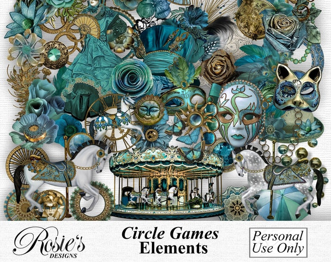 Circle Games Elements Personal Use