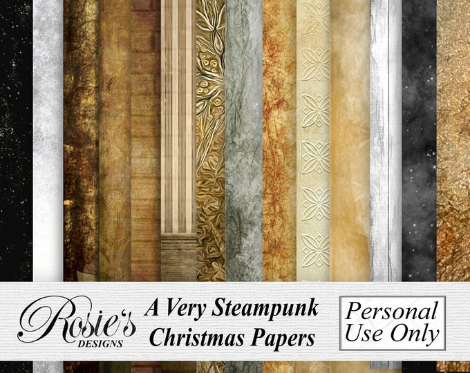 A Very Steampunk Christmas Papers Artistic License