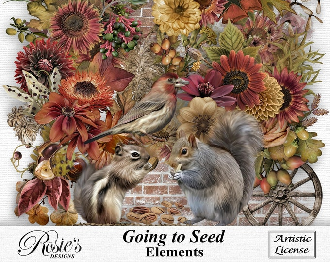 Going To Seed Elements Artistic License