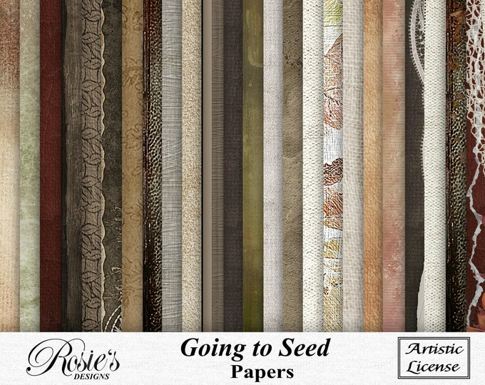 Going To Seed Papers Artistic License