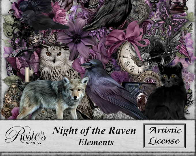 Night of the Raven Elements - Artistic License