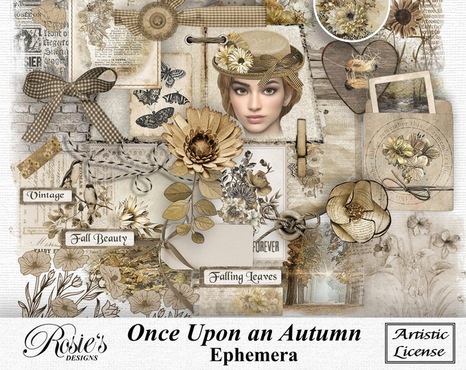 Once Upon An Autumn Ephemera Artistic License
