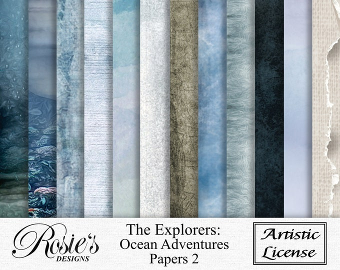 The Explorers, Ocean Adventures Papers2 Artistic License