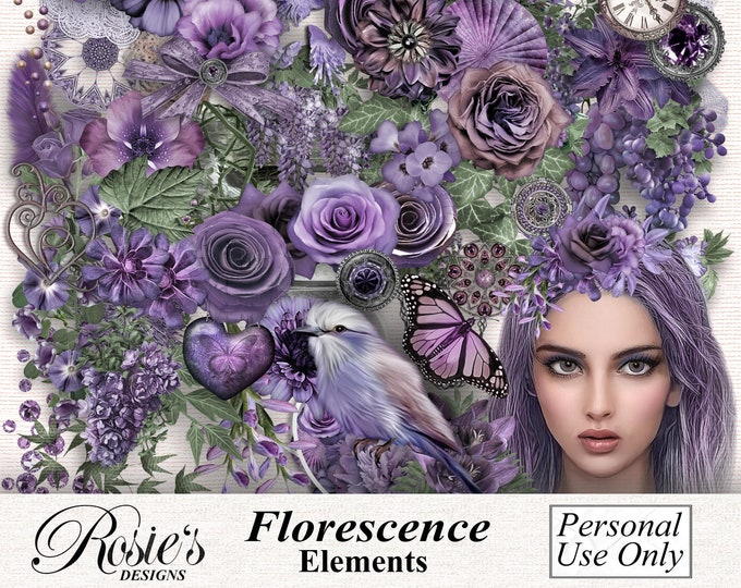 Florescences Elements Personal Use