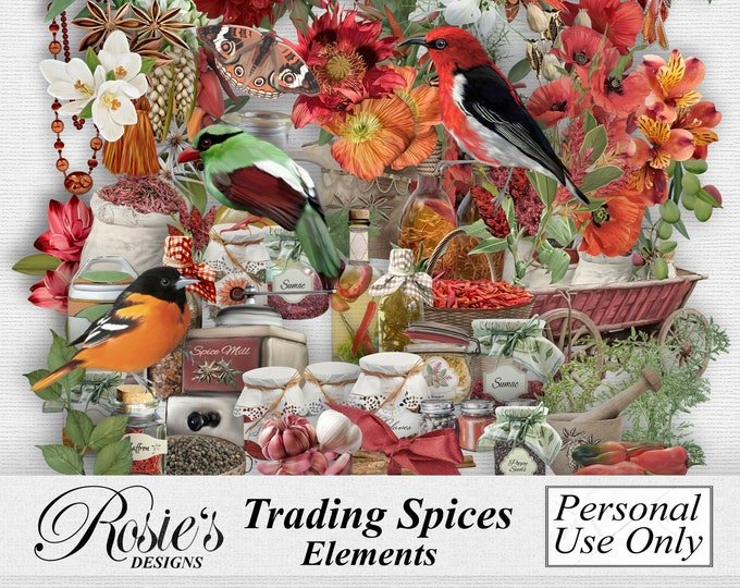 Trading Spices Elements Personal Use