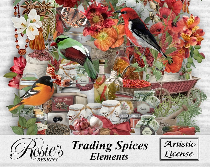 Trading Spices Elements Artistic License