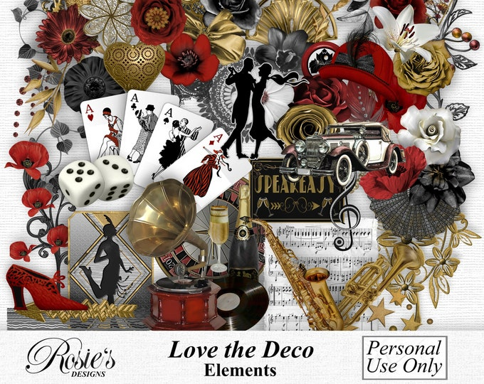 Love The Deco Elements Personal Use