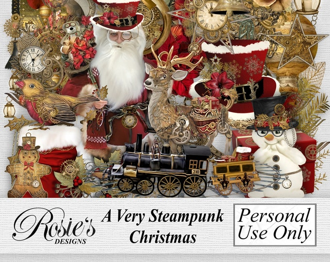 A Very Steampunk Christmas Elements Personal License