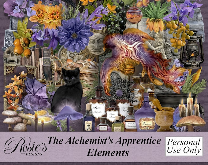 The Alchemist's Apprentice Elements Personal Use