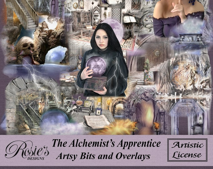 The Alchemist's Apprentice Artsy Bits And Overlays Artistic License