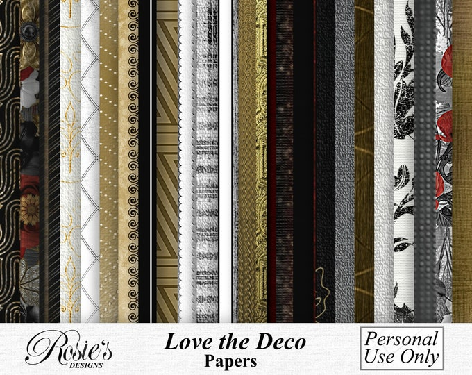 Love The Deco Papers Personal Use