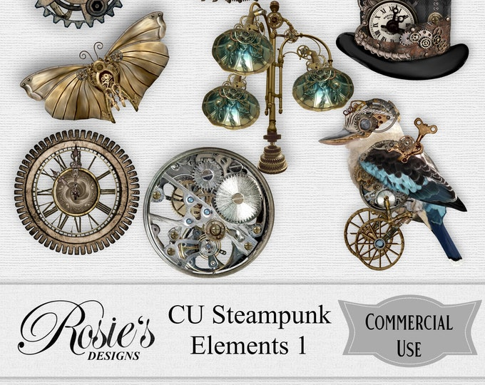 Steampunk Elements 1