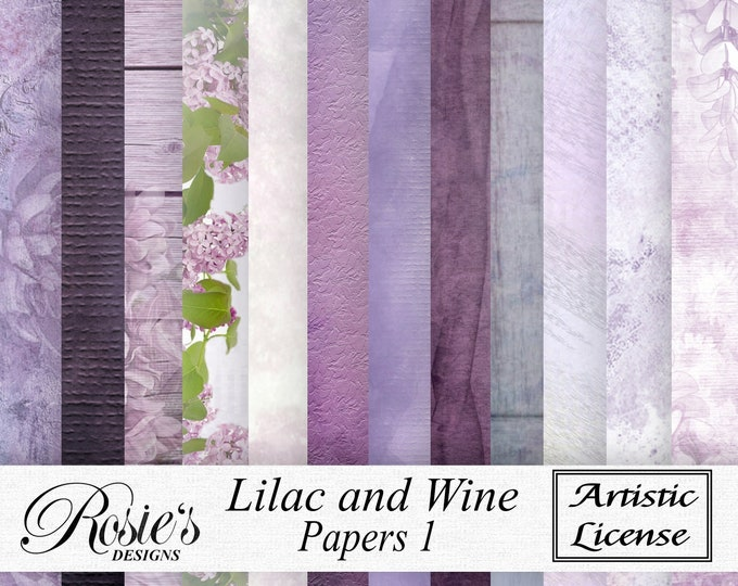 Lilac and Wine Papers 1