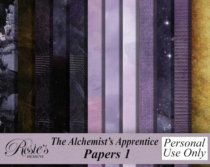 The Alchemist's Apprentice Papers 1 Personal Use