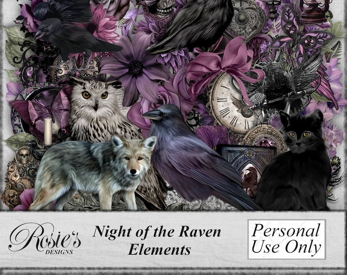 Night of the Raven Elements