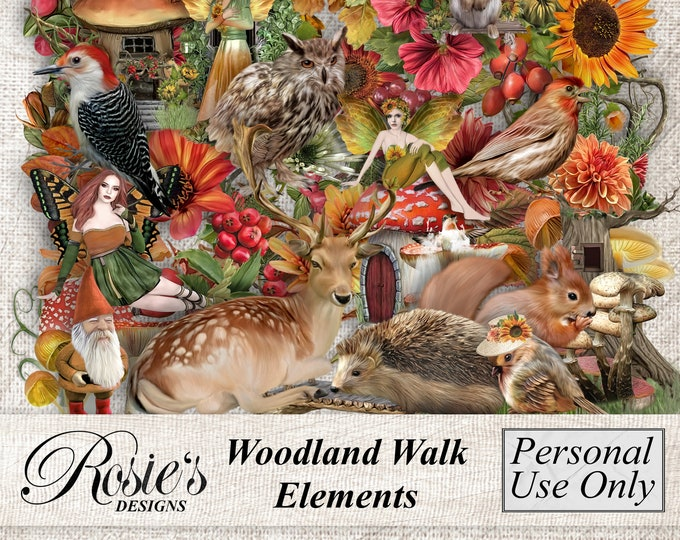 Woodland Walk Elements