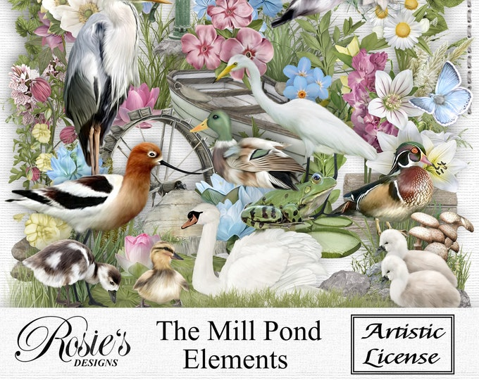 The Mill Pond Elements Artistic License