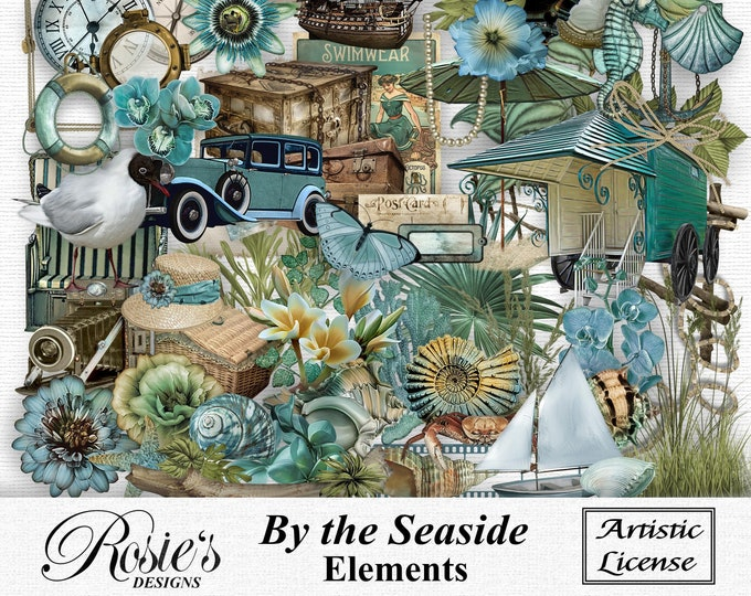 By The Seaside Elements Artistic License