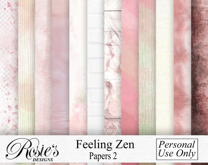 Feeling Zen Papers 2 Personal Use