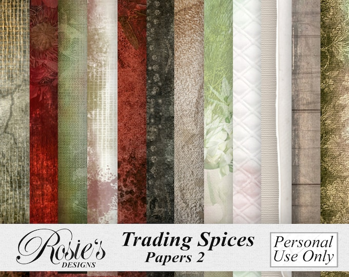 Trading Spices Papers 2 Personal Use