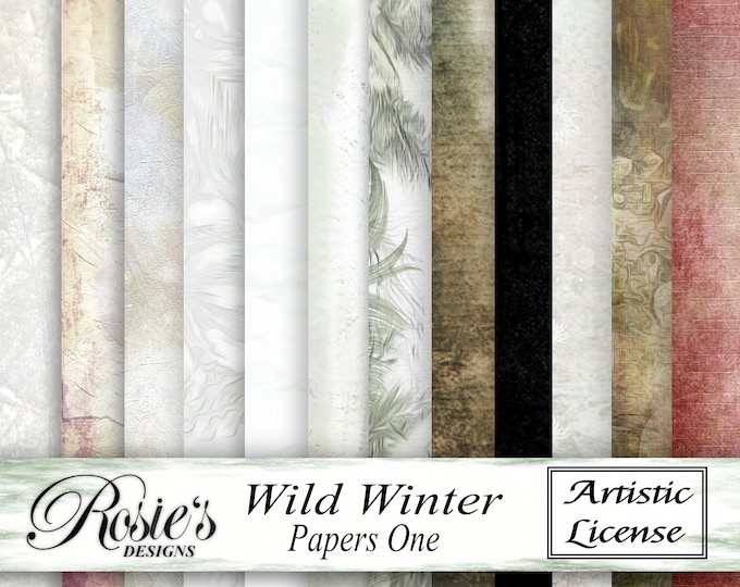 Wild Winter Papers One - Artistic License