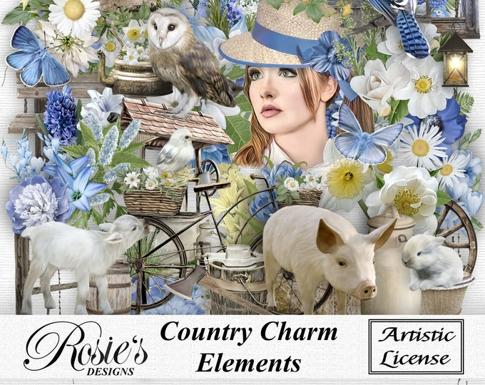 Country Charm Elements Artistic License