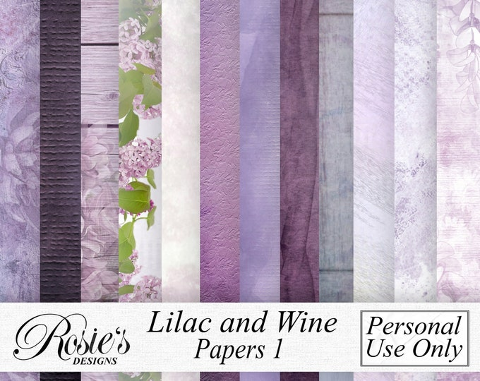 Lilac and Wine Papers 1 Personal Use