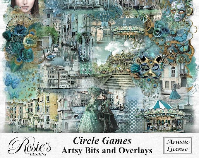 Circle Games Artsy Bits and Overlays Artistic License