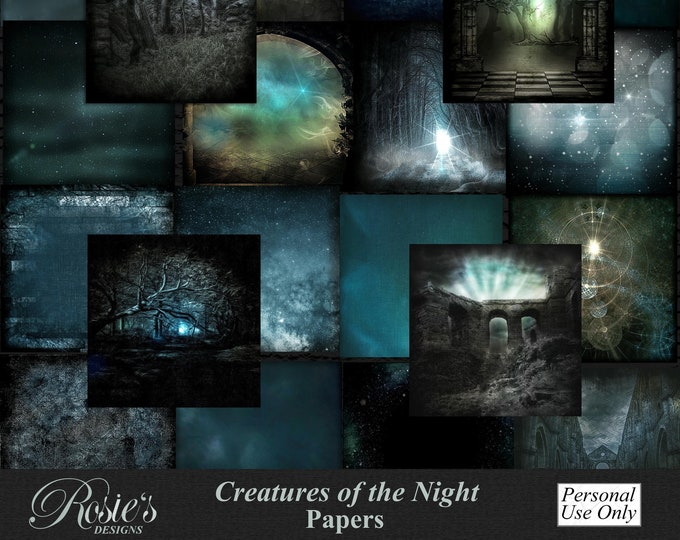 Creatures Of The Night Papers Personal Use