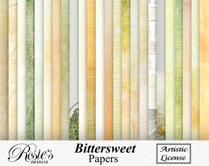Bitter Sweet Papers Artistic License