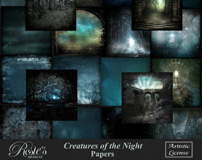 Creatures Of The Night Papers Artistic License