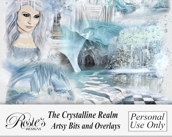The Crystalline Realm Artsy Bits and Overlays