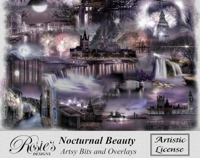 Nocturnal  Beauty Artistic Bits And Overlays Artistic License